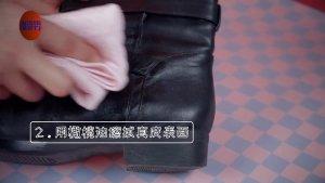 冬天的靴子好娇气,几招搞定不用洗