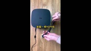 极米inui有线连接电脑