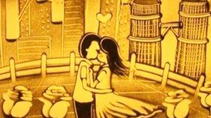 《夏目友人帐》用沙画绘出的温柔