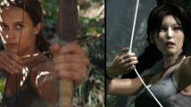 《古墓丽影》游戏混剪视频 片段逐帧对比神还原