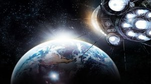 地球被毁,人们建起太空城,富人花钱移民