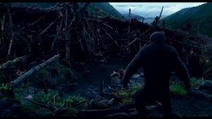 猩球与人类之间的殊死决战,一触即发