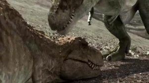侏罗纪时代的恐龙湖泊 居然还是温泉 恐龙聚集很是壮观
