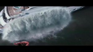这个人可以御海洋之水:非常震撼的视效
