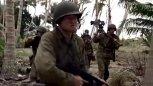 美军重机枪强大的火力让凶残的日本鬼子尸横遍野