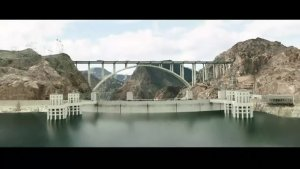 宏伟的大桥和防水大坝堤瞬间废墟一片,它的力量太强大