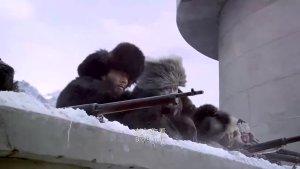 站在这么高的碉堡上且拥有重武器,再多敌人来犯也不惧啊