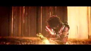星矢得雅典娜小宇宙战撒加,关键时刻爆发第七感,秒杀黄金圣斗士
