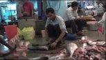 实拍印度三哥在市场杀鱼,这个刀很让人喜欢