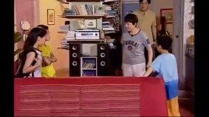 《家有儿女》刘星被骂不服气要耍赖,浑身上下都是戏