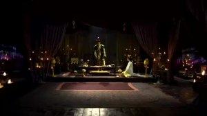 大王扮大老虎背芈月芈月感动正式成为王的女人