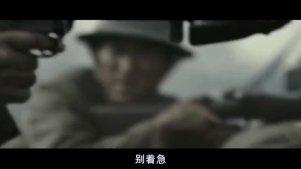 在战壕里死守与三万精锐日军正面交锋,战斗打的异常艰苦