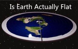 我偏要说地球是个大盘子?