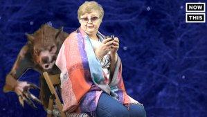 超可爱俄罗斯奶奶的绿幕特效