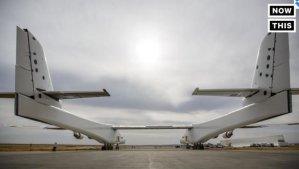 世界最大飞机首次亮相,将用于发射火箭