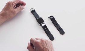 可以绘制心电图的Apple Watch表带Kardia Band