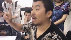 熊猫直播徐晓冬公开遭太极拳高手围堵视频,真的危险!