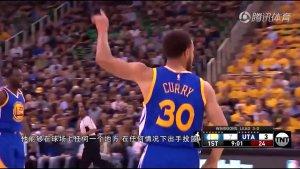 |NBA教学 球场的灵活舞蹈!库里虚晃运球胯下收球投篮教学|