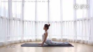【舒展筋骨 全身深度放松】这组不到5分钟的瑜伽小练习,可以
