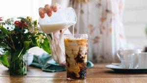 香草奶油咖啡