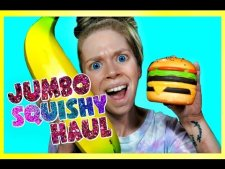 BIGGEST SQUISHIES EVER? JUMBO SQUISHY HAUL! RELAXING ASMR SLOW RISING SQUISHIES!