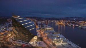 "Snøhetta为挪威小城镇设计的""可能是改变世界的办公大楼"""