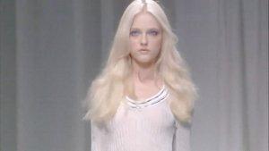 Vlada Roslyakova@ Versace Spring 2010