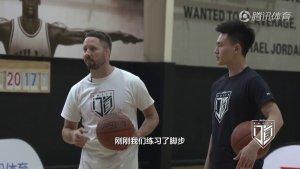  NBA教学 两招骚爆全场!欧文背后运球转身连技教学 