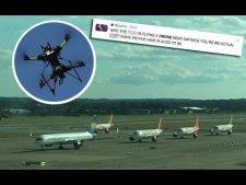 「PK大事件」无人机引发机场混乱 跑道关闭 5架飞机转向