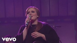Adele-《Chasing Pavements》Letterman现场版