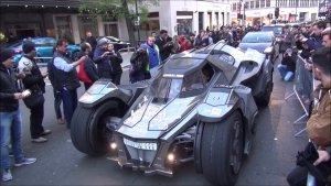 兰博基尼改出来的蝙蝠战车