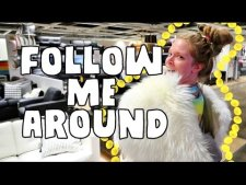 FOLLOW ME AROUND IKEA!