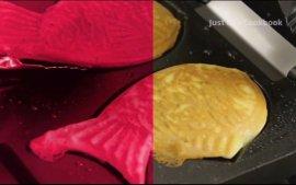 鲷(diao)鱼烧的制作方法
