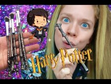 HARRY POTTER MAKEUP BRUSHES- WIZARD WANDS!