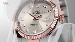 时尚美学的Rolex Datejust 36