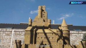 世界上第一个沙子做的酒店,诞生在伊利诺斯州。