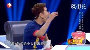 胜利在节目中模仿Bigbang各位说中文,又背着哥哥们搞事情