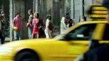 影片恐怖分子挟持飞机撞向了世贸大厦