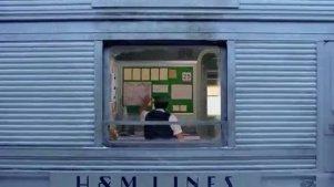暖心广告大片:火车圣诞节