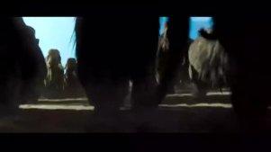 一群土著人设陷阱围攻大象群,太聪明了,画面很震撼