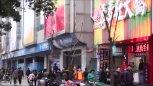 实拍江西南昌街头的各式小吃摊贩