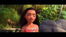 用24国语言唱的电影主题曲,海洋奇缘考你听力。