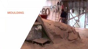 实拍:螺旋桨是如何生产铸造的?