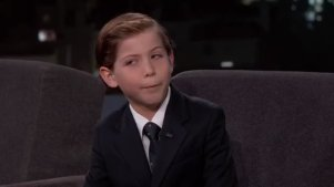 【访谈】Jacob Tremblay Likes Award Shows - Jimmy Kimmel Live