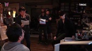 【W两个世界】李钟硕 拍摄花絮 跟吴作家对戏部分