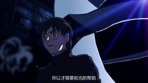 《云的彼端,约定的地方》片段:拓也问浩纪拯救佐由理还是世界