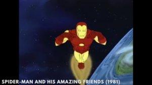 10分钟看遍钢铁侠50年在动画和电影中的风格变化