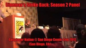 Strike Back反击第三季圣地亚哥漫展采访现场拍摄