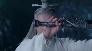 小凡被黑衣人频频追杀,万剑一出手相助