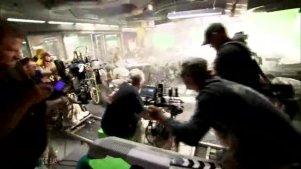 《阿凡达》中的射击场景拍摄花絮
